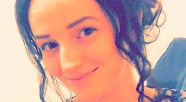 Tragedy: Finvola McMullan was left distraught after losing her baby