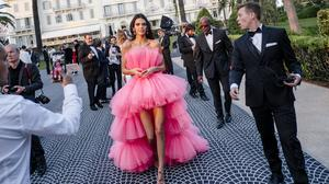 Kendall Jenner attends the amfAR Cannes Gala 2019 at Hotel du Cap-Eden-Roc on May 23, 2019 in Cap d'Antibes, France. (Photo by Gareth Cattermole/amfAR/Getty Images for amfAR )