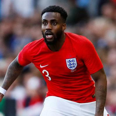 Danny Rose in action for England