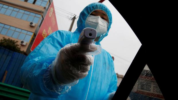 Disruption: Spread of the coronavirus caused a slump in China's manufacturing. Photo: REUTERS