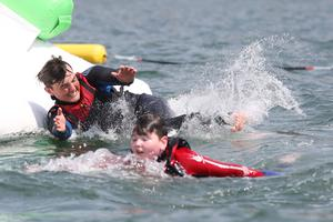 Making a splash: Inish Adventures in Co Donegal is back in action. Photo by Lorcan Doherty