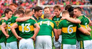 That Kerry can afford to keep Paul Geaney, Bryan Sheehan, Barry John Keane, Darran O'Sullivan, Tommy Walsh and Paul Galvin in reserve underlines the happy position in which Eamonn Fitzmaurice & Co found themselves at selection time
