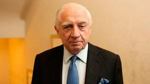 Barrister and banker Peter Sutherland. Photo: Gerry Mooney