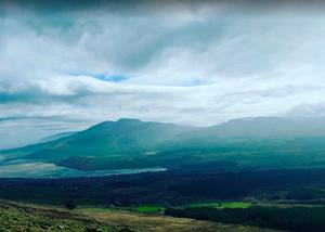 Mount Brandon is along the Dingle Peninsula in Co Kerry
