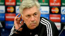 Real Madrid manager Carlo Ancelotti is unsure if he will play Gareth Bale from the start of their clash with Liverpool. Photo: Martin Rickett/PA Wire