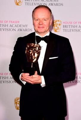 Jason Watkins with the Leading Actor Award for The Lost Honour of Christopher Jefferies at the House of Fraser British Academy of Television Awards at the Theatre Royal, Drury Lane in London. PRESS ASSOCIATION Photo. Picture date: Sunday May 10, 2015. See PA story SHOWBIZ Bafta. Photo credit should read: Ian West/PA Wire