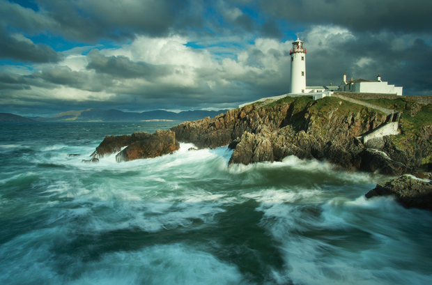 Great Lighthouses of Ireland: Fanad Head, Co. Donegal. Photo/Copyright: Andy McInroy