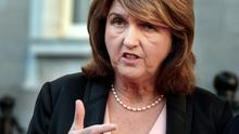 Tanaiste Joan Burton said Gerry Adams should withdraw his comments. Photo: Tom Burke