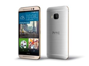 HTC's new One M9 mobile phone HTC/PA Wire