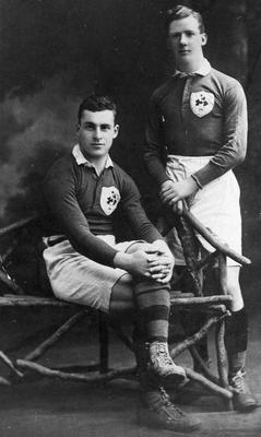 Vincent McNamara and Harry Jack (right) played for Munster and Ireland