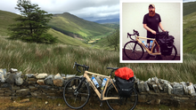 Mark Graham (inset) is cycling the Wild Atlantic Way