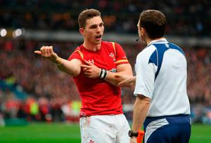 Wales' George North complains about an alleged bite