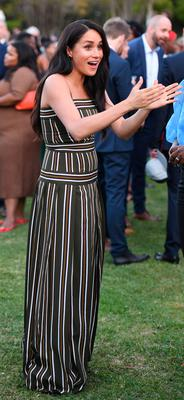 Meghan, Duchess of Sussex attends a reception for young people, community and civil society leaders at the Residence of the British High Commissioner, during the royal tour of South Africa on September 24, 2019 in Cape Town, South Africa. (Photo by Paul Edwards - Pool/Getty Images)