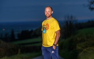 On behalf of Electric Ireland, Darkness Into Light Ambassador and former Kilkenny hurler, Tommy Walsh is encouraging the public to come together, while staying apart by getting up at 5:30am on May 9th to watch the sunrise to show solidarity with those impacted by suicide. Photo: INPHO/James Crombie