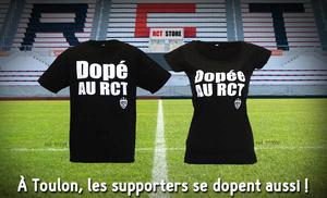 Toulon's new t-shirts are available for fans to purchase