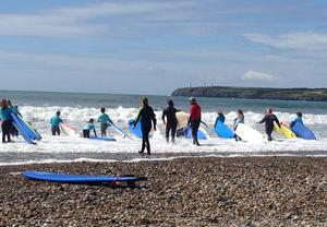 """Tramore beach - the best place in the world to find challenge, feel fresh and alive."" Photo by Margaretta Carr"