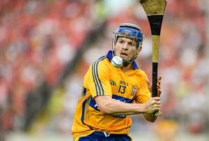 Clare's Podge Collins and his brother Sean will line out with the county's footballers in 2015 after deciding not to continue on in their dual roles. Photo: Dáire Brennan / SPORTSFILE