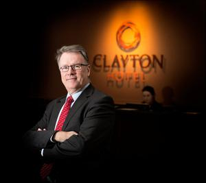 Dalata: Executive Officer Pat McCann seen in one of the group's Clayton Hotels. Photo: David Conachy