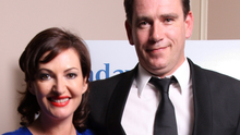 Political battle: Fine Gael TD John Deasy and his wife, broadcaster Maura Derrane. Photo: Tony Gavin