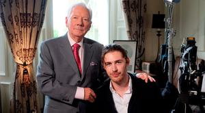 Gay Byrne with his Meaning of Life guest, Hozier