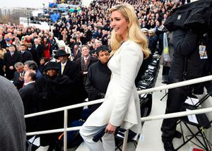 Ivanka Trump arrives for the Presidential Inauguration of Trump at the U.S. Capitol in Washington, D.C., U.S., January 20, 2017. REUTERS/Saul Loeb/Pool