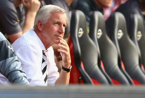 Newcastle were almost relegated under Alan Pardew 18 months ago when they finished fifth from bottom.  Photo credit: Richard Heathcote/Getty Images
