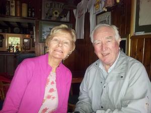 Devoted couple: Nell and John McGroddy had been married for 50 years