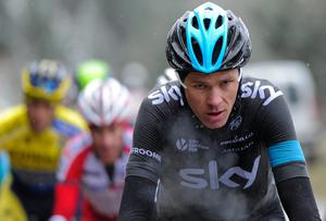 Team Sky leader Chris Froome finished 13th on the stage and remains in fourth place overall ahead of another big weekend in the mountains. David Ramos - Velo/Getty Images