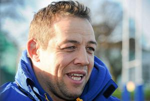 Leinster assistant coach Jono Gibbes
