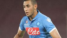 Wanted man: Faouzi Ghoulam is a target for the Gunners