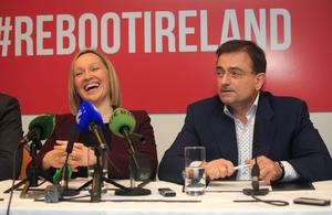 Lucinda Crieghton TD and Eddie Hobbs revealed plans for her party to run a candidate in every constituency in the upcoming general election