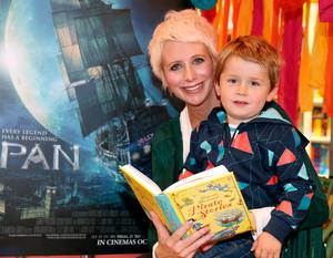 Aisling O'Loughlin and her son Patrick celebrate International Pirate Day in 2015. Picture: Brian McEvoy