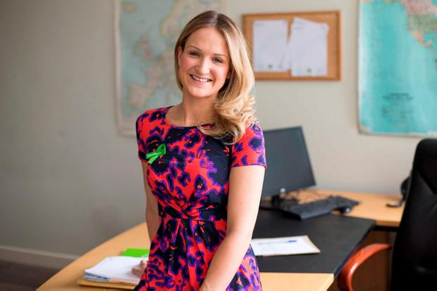 Minister of State Helen McEntee: 'My biggest worry is that I do a good job. I want to make an impact'. Photo: Mark Condren