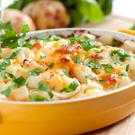 Butternut Squash, Chicken & Bacon Casserole