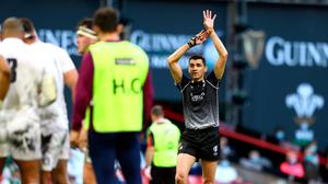 Referee Pascal Gauzere came in for criticism for two decisions that led to Welsh tries in their win over England. (Photo by Michael Steele/Getty Images)