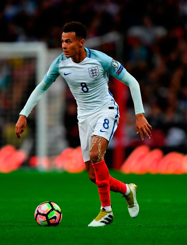 New England manager Gareth Southgate has big decisions to make about Dele Alli and team captain Wayne Rooney Picture: Getty