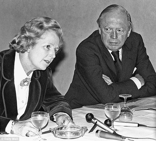 Close collaborators: Airey Neave and Margaret Thatcher. After his assassination, she said she felt 'like a puppet whose strings have been cut'