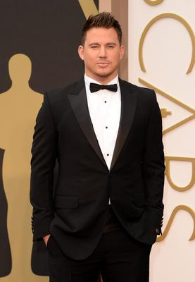 Actor Channing Tatum attends the Oscars held at Hollywood & Highland Center on March 2, 2014 in Hollywood, California.  (Photo by Jason Merritt/Getty Images)