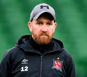 Dundalk coach Shane Keegan is set for move into hurling management in his native Laois. Photo: Sportsfile