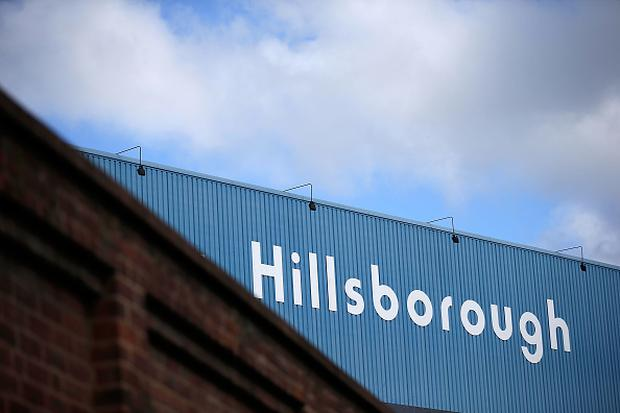 SHEFFIELD, ENGLAND - APRIL 26: A general view of the Hillsborough stadium on April 26, 2016 in Sheffield, England. (Photo by Matthew Lloyd/Getty Images)