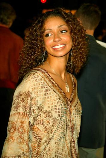 """Mya at the premiere of """"8 Mile"""" at the Village Theatre in Westwood, Ca. Wednesday, Nov. 6, 2002. Photo by Kevin Winter/Getty Images."""