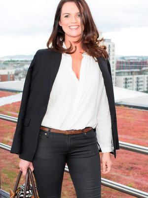 Anna Fortune pictured on Wednesday, 3rd June at The Marker hotel for the launch of the 2015 Dubai Duty Free Irish Derby