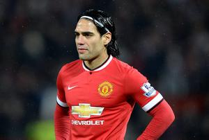 Comments made by Radamel Falcao's agent have cut no ice with Louis Van Gaal