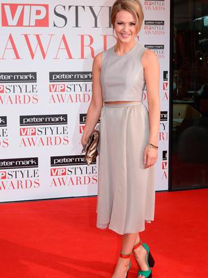 Aoibhin Garrihy at the Peter Mark VIP Style Awards 2013