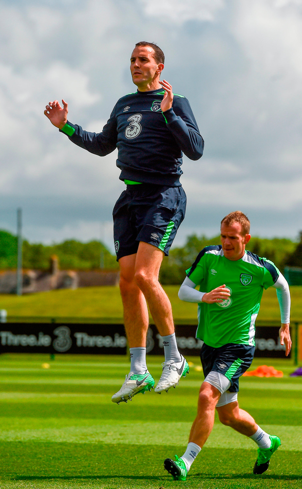 O'Shea is one of seven Sunderland players whose deals are up at the end of the month. Photo by David Maher/Sportsfile