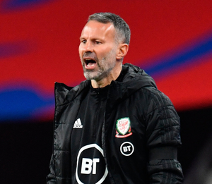 Wales manager Ryan Giggs. Photo: Glyn Kirk - Pool/Getty Images