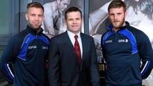 Jonny Cooper, Dessie Farrell and Eoin Cadagan at the launch of the GPA's 'We Wear More Than Our County Colours' campaign