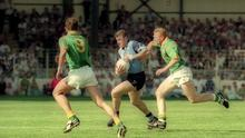 Dublin secured a fourth Leinster title in a row with a ten-point win over Meath in 1995. Photo by Ray McManus/Sportsfile