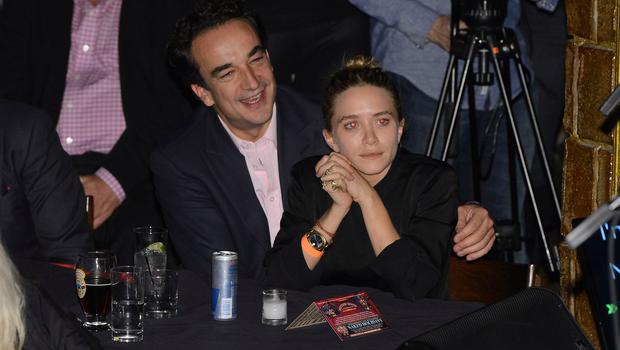 Olivier Sarkosy and Mary Kate Olsen attend performance of Ronnie Wood And Mick Taylor With Special Guests at The Cutting Room on November 7, 2013 in New York City.