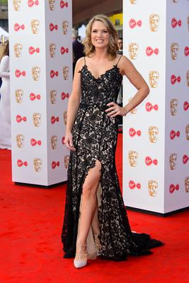 Charlotte Hawkins attends the Virgin TV BAFTA Television Awards at The Royal Festival Hall on May 14, 2017 in London, England. (Photo by Joe Maher/Getty Images)